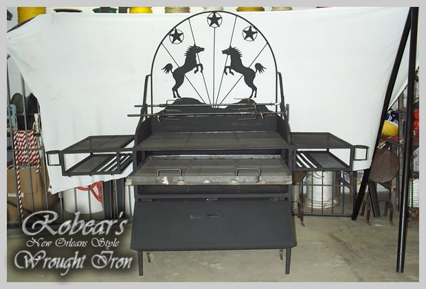 Ro 39 Bears New Orleans Style Wrought Iron