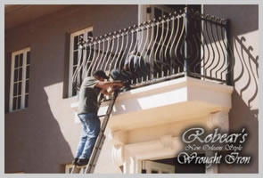 Since 1999, Robear's New Orleans Style Wrought Iron has provided high